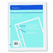 Heavyweight 20-lb. Reinforced Bond Filler Paper, 11 x8-1/2, Unruled, 100 Shts/pk