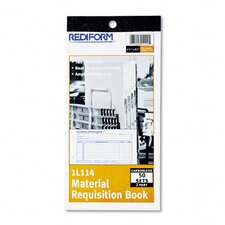 Material Requisition Book, 50-Sets/Book
