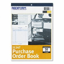 Purchase Order Book, 50 Sets/Book