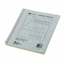 Wirebound Duplicate Lab Notebook, 100 Sheets/Pad