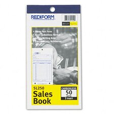 <strong>Rediform Office Products</strong> Sales Book, 3-5/8 X 6 3/8, Carbonless Triplicate, 50 Sets/Book
