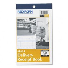 Delivery Receipt Book, 50 Sets/Book