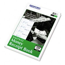 Hardcover Numbered Money Receipt Book, 200 Sets/Book
