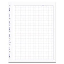 Blueline Miraclebind Quad Ruled Refill Sheets