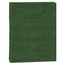Exec Wirebound Notebook, College/Margin Rule, 8-1/2x11, 200 Sheets