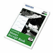 Hardcover Numbered Money Receipt Book, 300 Sets/Book