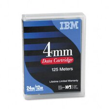 "1/8"" Data Cartridge, 125m, 12GB Native/24GB Compressed Data Capacity"