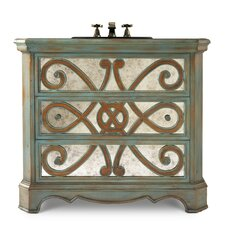 "Designer Series 36"" Sophia Hall Chest Vanity Set"