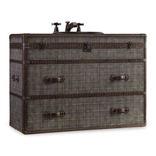 "Designer Series 46"" Sutherland Travel Chest Vanity Set"