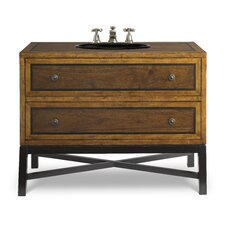 "Designer Series 44"" Charleston Sink Chest Vanity Set"