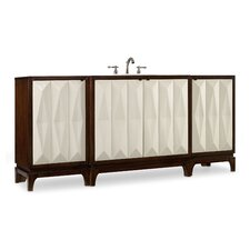 "Designer Series 78"" Slaton Chest Vanity Set"