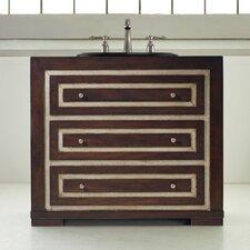 "Designer Series 36"" Mahoney Sink Chest Vanity Set"
