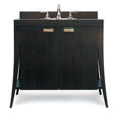 "Designer Series 40"" Single Lily Contemporary Bathroom Vanity Set"