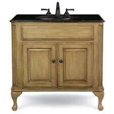 "Custom 37"" Classic Bath Vanity Set"