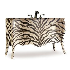 "<strong>Cole & Company</strong> Gabrielle 56.5"" Sink Chest Vanity Set"