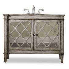 "Kelley 44"" Sink Chest Vanity Set"
