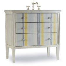 """Designer Series 35"""" Single Seaside Bathroom Vanity Set"""