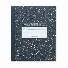 Marble Cover Composition Book, 8-1/2 X 7