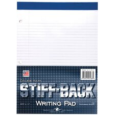 100 Sheet Stiff-Back Writing Pad