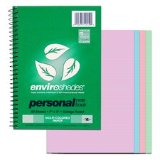 70 Sheet Enviroshade Personal Notebook