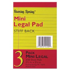 <strong>Roaring Spring Paper Products</strong> 50 Sheet Mini Legal Pad