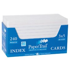 240 Count Ruled Index Cards