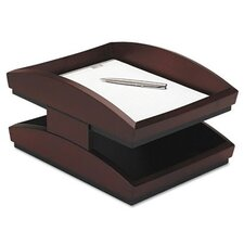 Executive Woodline II Legal Desk Tray