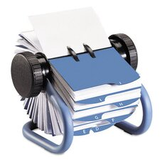 <strong>Rolodex Corporation</strong> Colored Open Rotary Business Card File