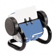 <strong>Rolodex Corporation</strong> Open Rotary Card File Holds 250 1 3/4 X 3 1/4 Cards