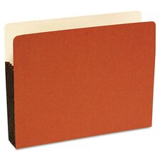 Standard File Pocket, 3 1/2 Inch Expansion, 25/Box