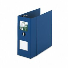 "Clean Touch Antimicrobial Locking Binder, 11 X 8-1/2, 5"" Capacity"