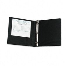 Heavy-Duty Locking Round Ring Binder, 8-1/2 x 11, 1in Capacity