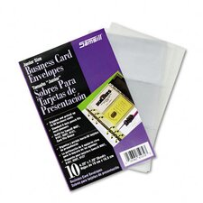 <strong>Samsill Corporation</strong> Business Card Binder Refill Pages, 10 Pages/pack