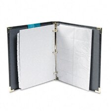 Vinyl Business Card Binder Holds