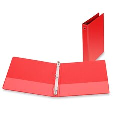 "3-Ring Vue Binder, 1"" Capacity, 11""x8-1/2"", Red"
