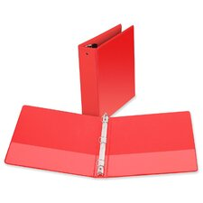 "3-Ring Vue Binder, 2"" Capacity, 11""x8-1/2"", Red"