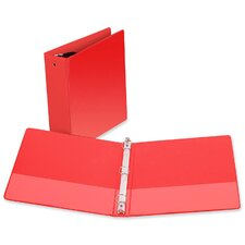 "3-Ring Vue Binder, 3"" Capacity, 11""x8-1/2"", Red"