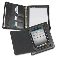iPad Zipper Binder with Magnetic Smart Flap