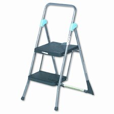 2-Step Commercial Folding Step Stool