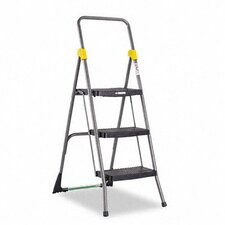 Commercial 3-Step Folding Step Stool