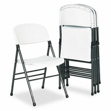 Bridgeport Endura Resin Molded Folding Chair, 4/Carton