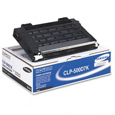 CLP500D7K Laser Print Cartridge, Black