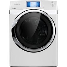 <strong>Samsung</strong> 7.5 Cu. Ft. Front Load Dryer with Steam Drying Technology and LCD Touchscreen