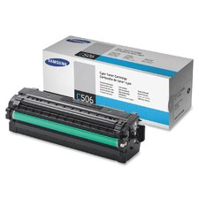 Toner Cartridge, 3500 Page Yield, Cyan