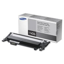 CLTK406S Toner Cartridge, 1500 Page Yield, Black