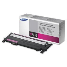 CLTM406S Toner Cartridge, 1000 Page Yield, Magenta
