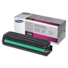 CLTM504S Toner Cartridge, 1800 Page Yield, Magenta