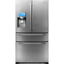 "28 Cu. Ft. 4-Door Refrigerator with 8"" LCD Digital Display"