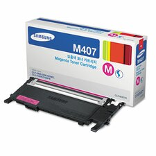 CLTM407S Toner Cartridge, 1000 Page Yield, Magenta