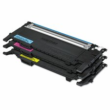 P407A Color Laser Toner Cartridge, 1000 Page Yield (Set of 3)